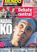 Portada Mundo Deportivo del 20 de Julio de 2012