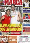 Portada diario Marca del 21 de Julio de 2012
