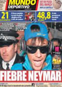 Portada Mundo Deportivo del 21 de Julio de 2012