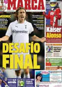 Portada diario Marca del 22 de Julio de 2012