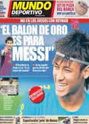 Portada Mundo Deportivo del 22 de Julio de 2012