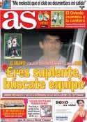 Portada diario AS del 24 de Julio de 2012