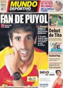 Portada Mundo Deportivo del 24 de Julio de 2012