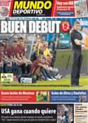 Portada Mundo Deportivo del 25 de Julio de 2012