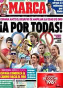 Portada diario Marca del 26 de Julio de 2012