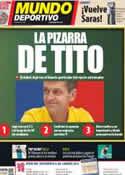 Portada Mundo Deportivo del 26 de Julio de 2012