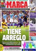 Portada diario Marca del 27 de Julio de 2012