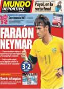 Portada Mundo Deportivo del 27 de Julio de 2012
