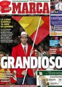 Portada diario Marca del 28 de Julio de 2012