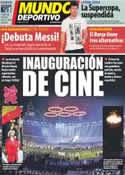 Portada Mundo Deportivo del 28 de Julio de 2012