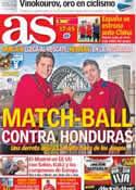 Portada diario AS del 29 de Julio de 2012