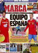 Portada diario Marca del 29 de Julio de 2012