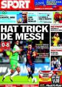Portada diario Sport del 29 de Julio de 2012