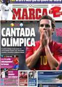 Portada diario Marca del 30 de Julio de 2012