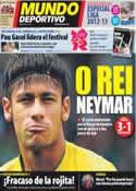 Portada Mundo Deportivo del 30 de Julio de 2012