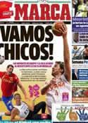 Portada diario Marca del 31 de Julio de 2012