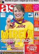 Portada diario AS del 2 de Agosto de 2012