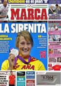 Portada diario Marca del 2 de Agosto de 2012
