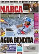 Portada diario Marca del 3 de Agosto de 2012