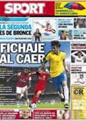 Portada diario Sport del 3 de Agosto de 2012