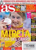 Portada diario AS del 4 de Agosto de 2012