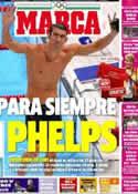 Portada diario Marca del 5 de Agosto de 2012