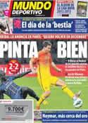 Portada Mundo Deportivo del 5 de Agosto de 2012