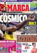 Portada diario Marca del 6 de Agosto de 2012