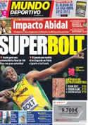 Portada Mundo Deportivo del 6 de Agosto de 2012