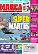 Portada diario Marca del 7 de Agosto de 2012