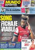 Portada Mundo Deportivo del 7 de Agosto de 2012