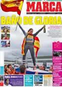 Portada diario Marca del 8 de Agosto de 2012