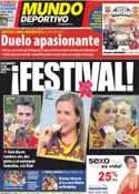 Portada Mundo Deportivo del 8 de Agosto de 2012
