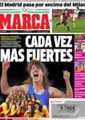 Portada diario Marca del 10 de Agosto de 2012