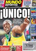 Portada Mundo Deportivo del 10 de Agosto de 2012
