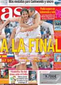 Portada diario AS del 11 de Agosto de 2012