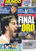 Portada Mundo Deportivo del 11 de Agosto de 2012