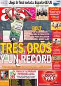 Portada diario AS del 12 de Agosto de 2012