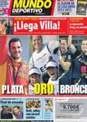 Portada Mundo Deportivo del 12 de Agosto de 2012