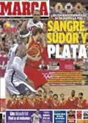 Portada diario Marca del 13 de Agosto de 2012