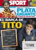 Portada diario Sport del 13 de Agosto de 2012