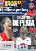 Portada Mundo Deportivo del 13 de Agosto de 2012