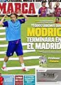 Portada diario Marca del 14 de Agosto de 2012