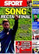 Portada diario Sport del 16 de Agosto de 2012