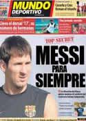 Portada Mundo Deportivo del 16 de Agosto de 2012