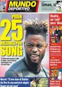 Portada Mundo Deportivo del 17 de Agosto de 2012