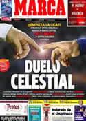 Portada diario Marca del 18 de Agosto de 2012