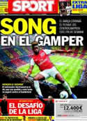 Portada diario Sport del 18 de Agosto de 2012