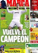 Portada diario Marca del 19 de Agosto de 2012