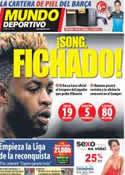 Portada Mundo Deportivo del 19 de Agosto de 2012